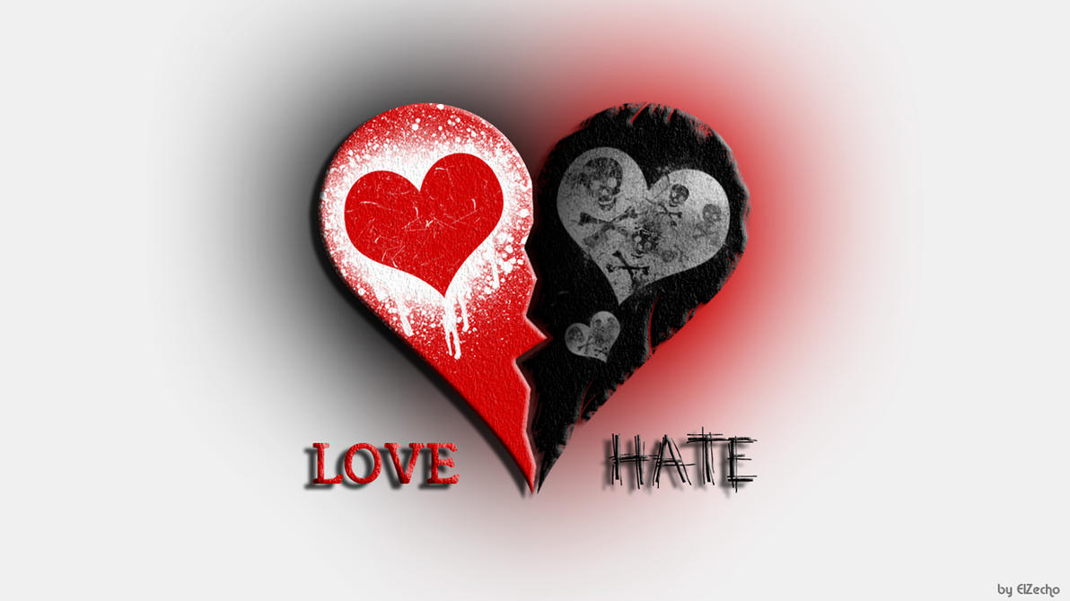 Love and hate artwork