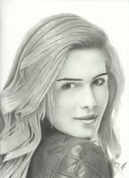 Emily Bett Rickards by Victari
