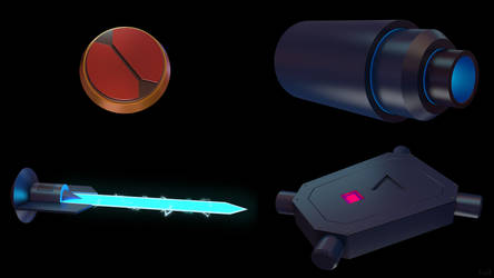 Battle Network Items