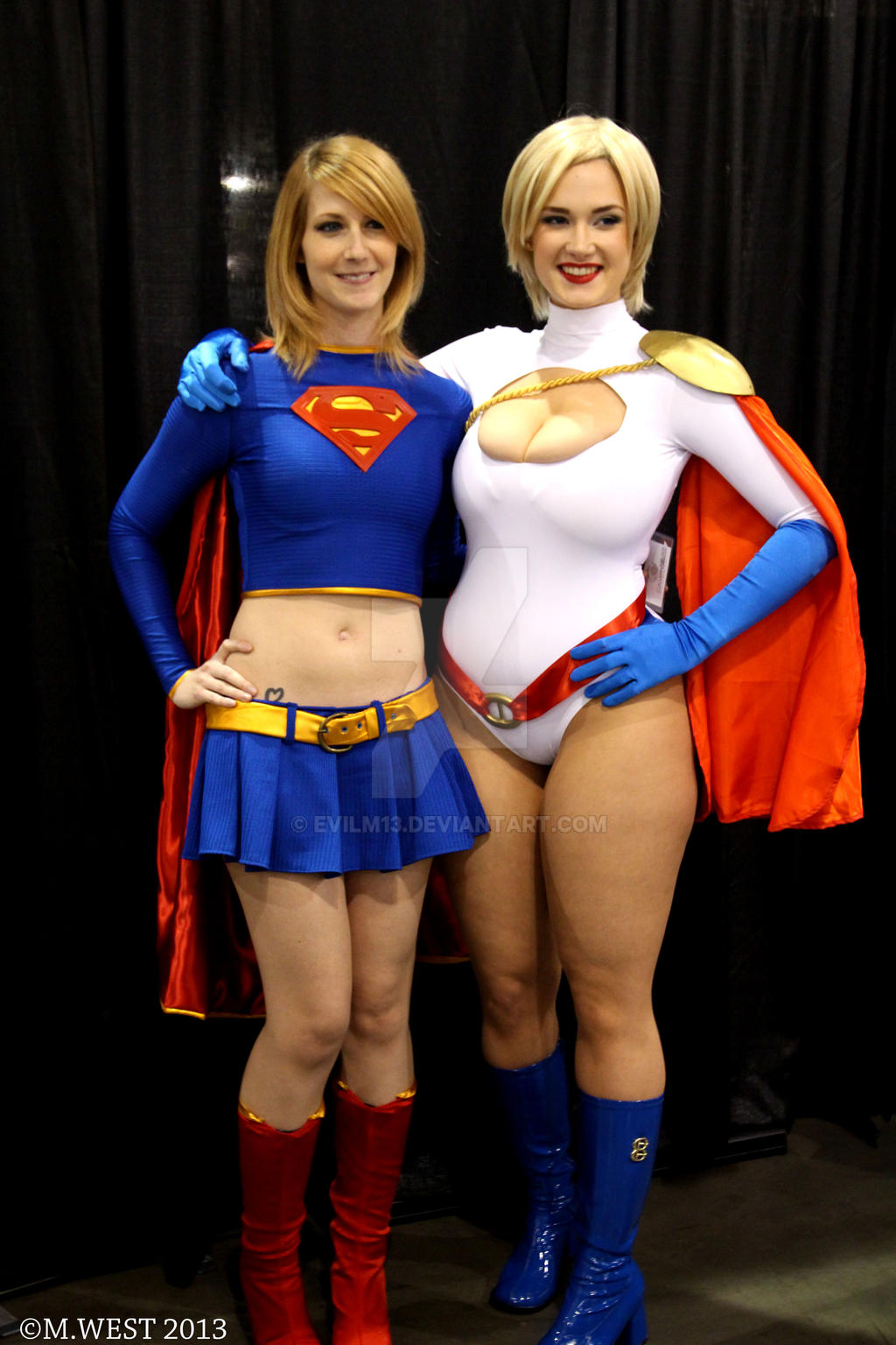 Supergirl An Powergirl by evilm13