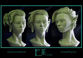 female elf ll by renemarcel27