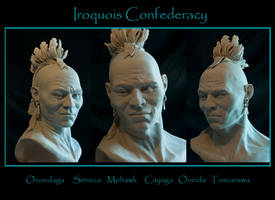 Iroquois native american by renemarcel27