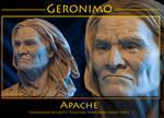Native American Geronimo ll by renemarcel27