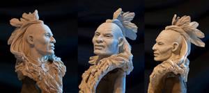 Native American iroquois II by renemarcel27