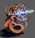 Uktena the Eternal Serpent Diety by MichaelPatrick42