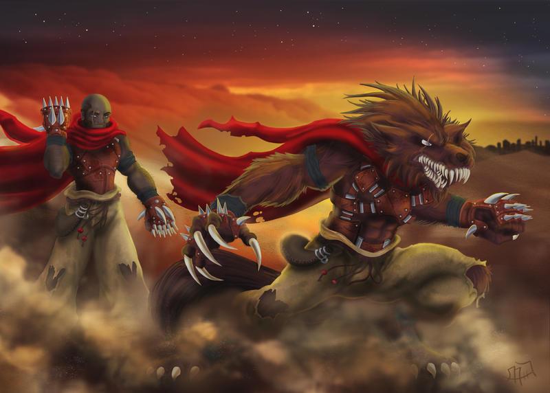 Kaynahn the Desert Wolf