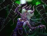 Dragon Witch Detail by MichaelPatrick42
