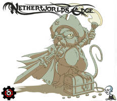 Netherworld's Edge: Grimwater Pirate