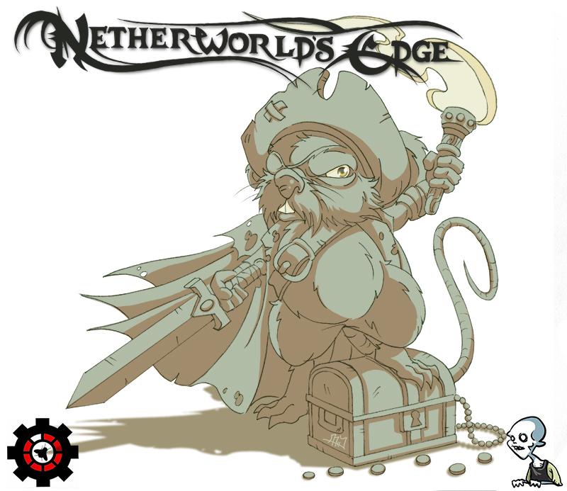 Netherworld's Edge: Grimwater Pirate