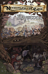 Netherworld's Edge: Keystone Cover Art