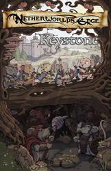 Netherworld's Edge: Keystone Cover Art by MichaelPatrick42