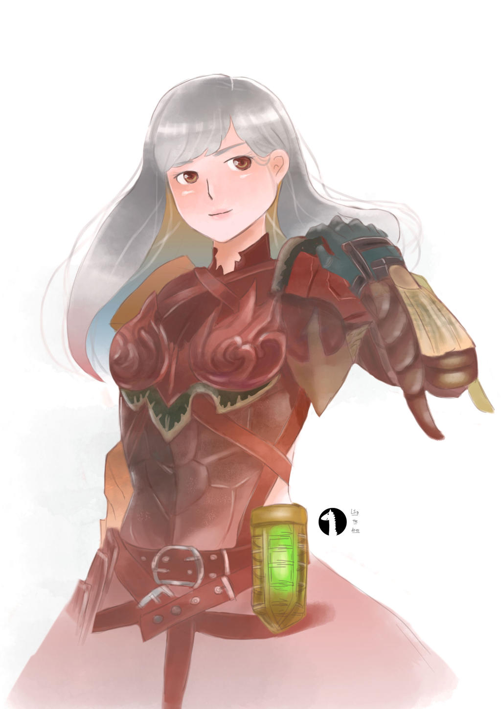 Clarine My Monster Hunter World Character By Lilythedogy On Deviantart