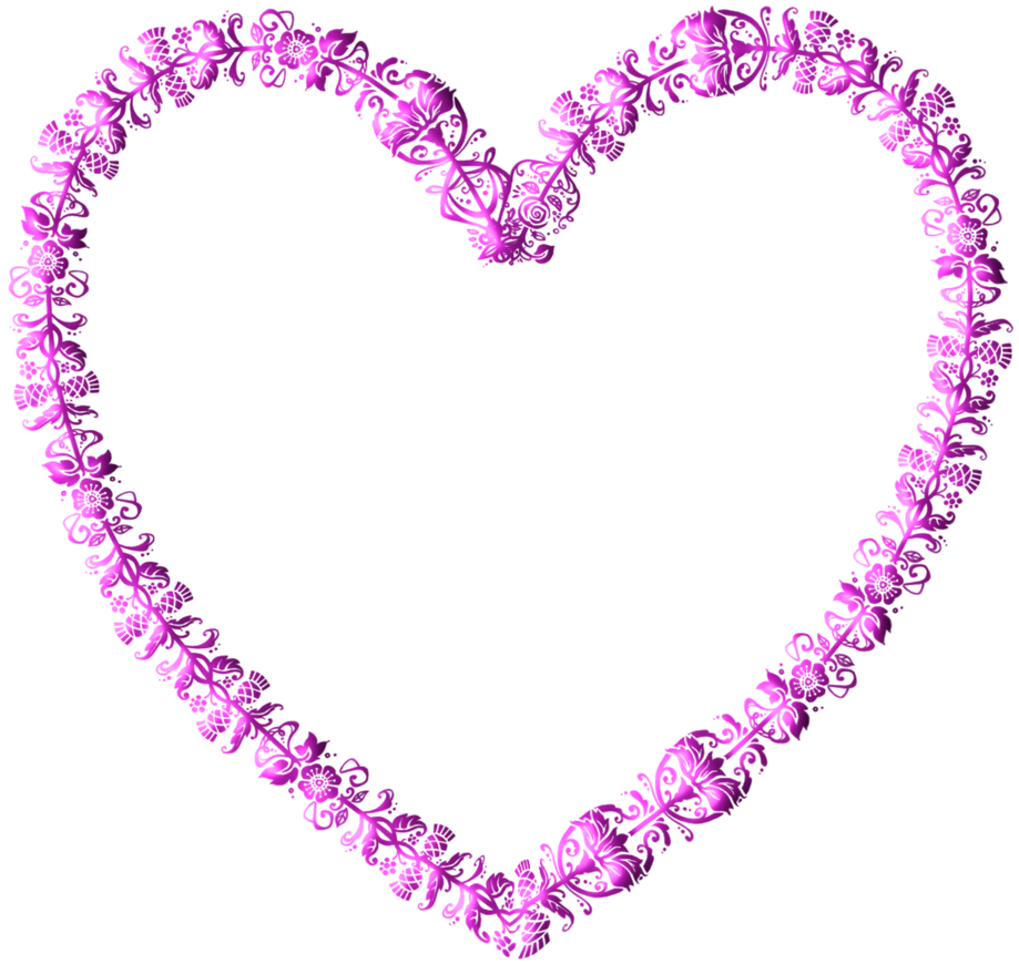 Frame heart pink by LaShonda1980 on DeviantArt
