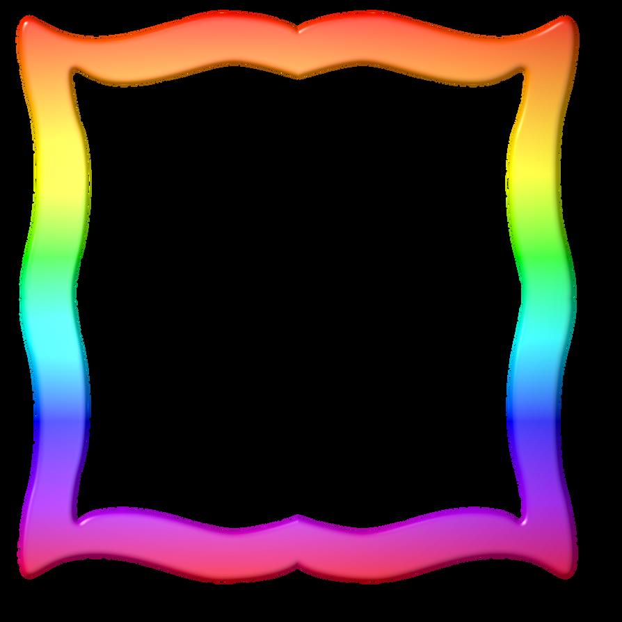 Rainbow Frame by LaShonda1980 on DeviantArt