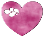 Pink heart by LaShonda1980
