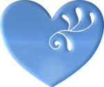 Heart Blue by LaShonda1980