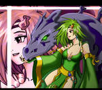 Rydia The beautifull summoner