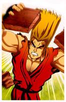 Paul Phoenix Tekken 1 by nightshide