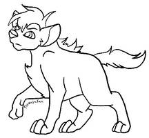 Free to use Hyena base! by TsukasaFanAdoptables