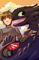 A Boy and His Dragon