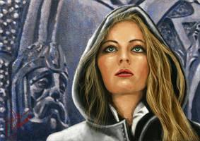 Druid Woman by jpratana
