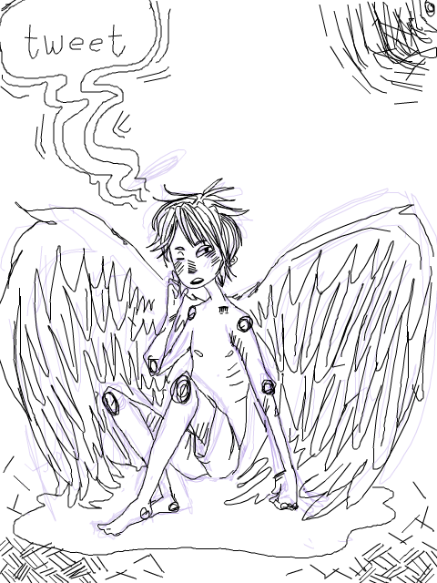 Bird Boy by Anita-chu