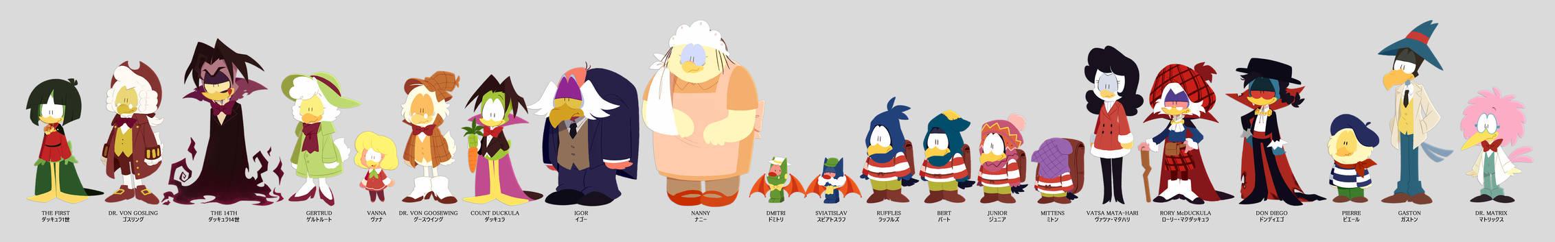 Count Duckula cast
