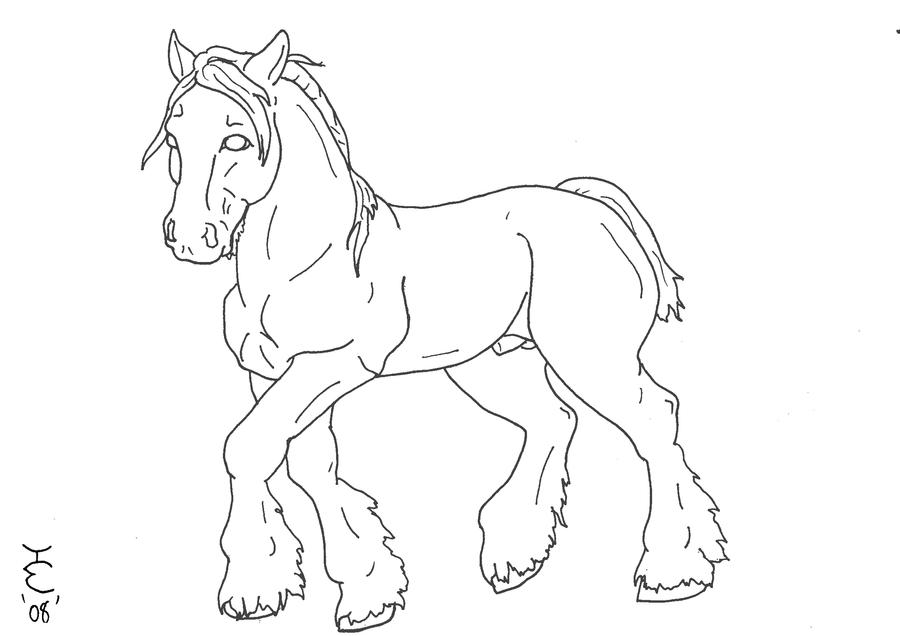 Clydesdale horse coloring pages ~ Clydesdale Pages Coloring Pages