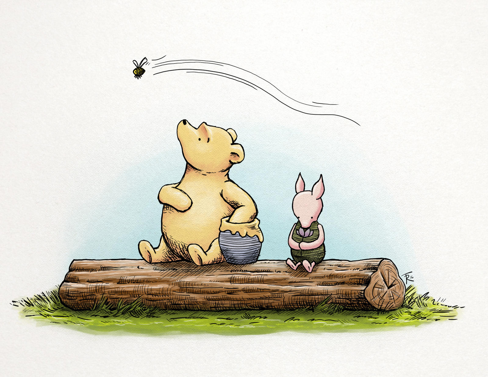 Classic Winnie The Pooh And Piglet By Sphinkrink On DeviantArt
