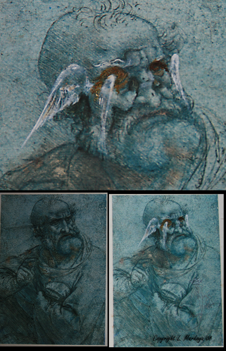 Apparition in Da Vinci Apostle by LMarkoya