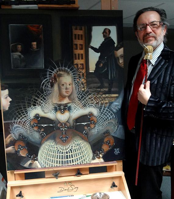 The Infanta as Velazquez's Strange Attractor by LMarkoya