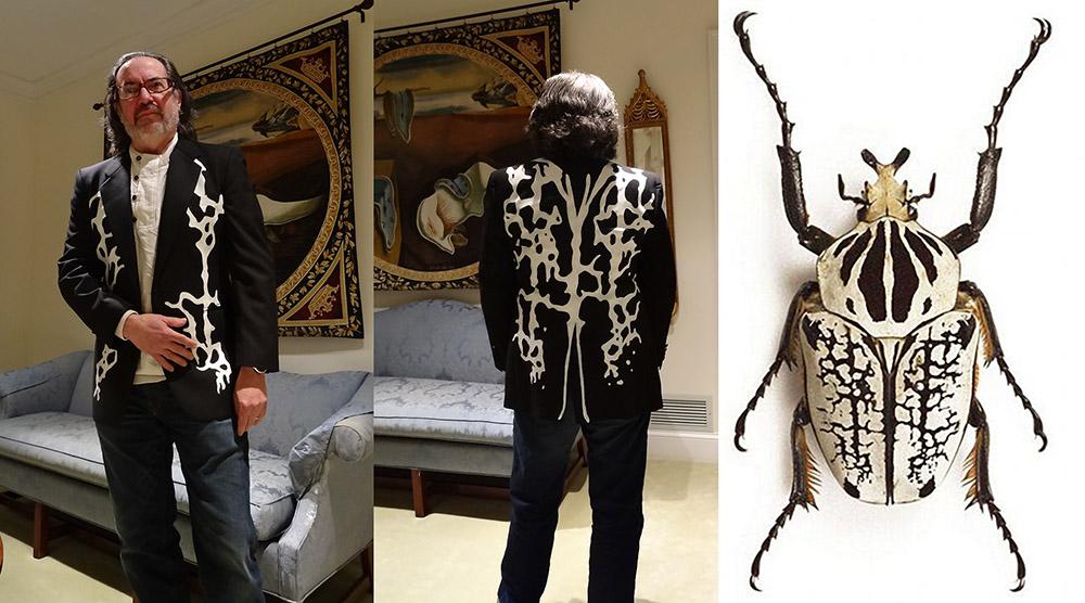 Introducing Goliath Beetle Inspired Formalwear by LMarkoya