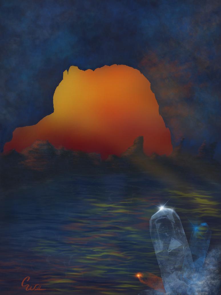 Crystalline-Original Artwork(JBD Entry) by whitewizardlotr