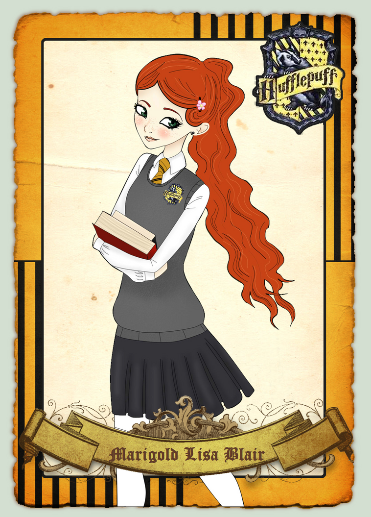 Marigold Lisa Blair: Hogwarts Academy Application by Kay-de-ultimate