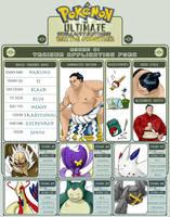 Pokemon: UBF Trainer Hakuho by CasteelArt