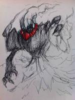 Darkrai Concept Sketch by CasteelArt