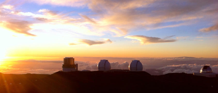 Keck Observatory: Mauna Kea, Hawaii by CasteelArt