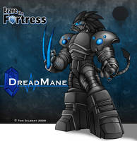 Brave The Fortress: Dreadmane2 by GigaLeo