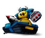 Commission piece: Megabot
