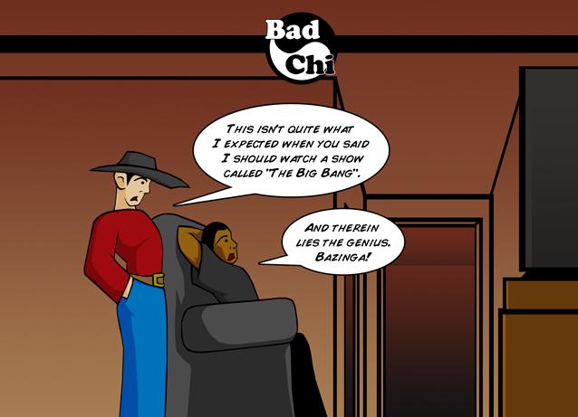 Bad Chi: Bazing-wa? by GigaLeo