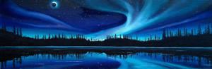 Blue Nightlight