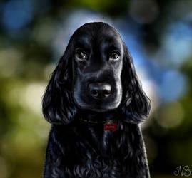 Olivia - Portrait by Lyraven