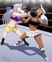 Commission: Shelby vs Neggy by ButcherStudios