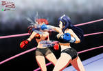 Commission: Yumi vs Elizabeth 1