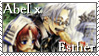 Abel x Esther Stamp by MidnightChangeling