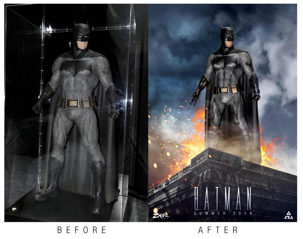 Batman - Bat Affleck by zahili