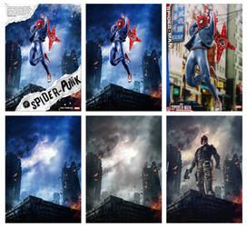 Spider Punk Progress