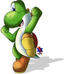 Just a Green Yoshi *Remastered*