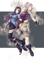 .:Naruto:. Stick Together by SleepingAyumu