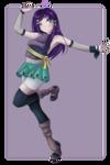 .:Naruto:. Reika - Chunin Outfit